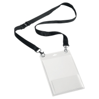 Durable 8525 badge avec lacet textile A6 - paquet de 10