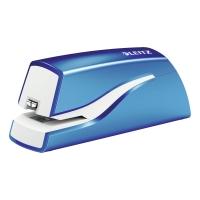 Elektrická zošívačka Leitz WOW 5566, kapacita 10 listov, modrá