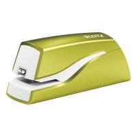 Elektrická zošívačka Leitz WOW 5566, kapacita 10 listov, zelená
