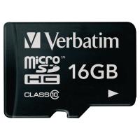 Karta pamięci VERBATIM microSDHC 16 GB