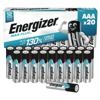 Energizer Eco Advanced piles alcaline AAA - paquet de 20