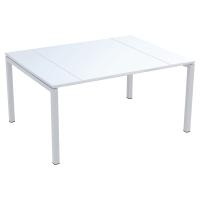 Paperflow Easydesk tablet voor conferentietafel 150x114 wit
