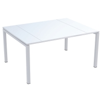 Paperflow Easydesk structuur voor conferentietafel 150x114 wit