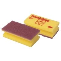 Reinigungsschwamm sensitiv Scotch-Brite 55, gelb, Packung à 6 Stück