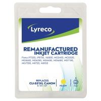 Lyreco inktcatridge Canon CLI 551XL geel [15 ml]