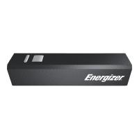 Powerbank Energizer, 2000 mAh, 1 USB Output, schwarz