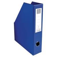 Stojak na katalogi EXACOMPTA, niebieski, szerokość 7 cm