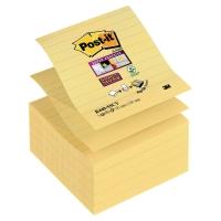 Náplne Z-bločky Post-it, kanárikovožltá, 5 bločkov 101x101 mm