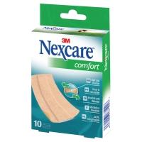 3M Nexcare N1170B Comfort pleisters huidkleurig - doos van 10