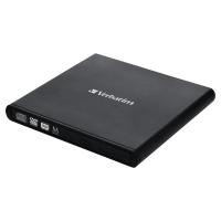Verbatim mobiele DVD rewriter 2.0 zwart