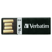 Verbatim USB kľúč CLIP-IT, čierny, 16 GB