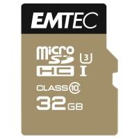 EMTEC Micro SDXC pamäťová karta 650X s adaptérom a čít ačkou, 32 GB