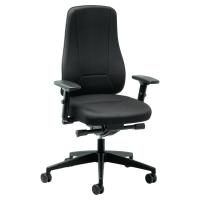 Prosedia Younico 2456 bureaustoel met synchroon contact - zwart