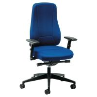 Siège de bureau Prosedia Younico 2456 avec mécanisme synchronisé - bleu