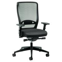 Prosedia Younico 3476 bureaustoel met synchroon contact - zwart