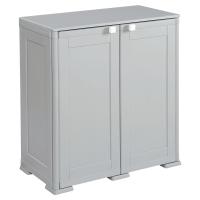 Kis armoire avec 2 tablettes 1m gris