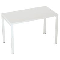 Schreibtisch B114 Easydesk, nicht verstellbar, 114x60 cm, weiss