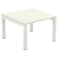 Table de réception Paperflow EasyDesk 60x60 cm - blanc