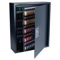 Armario PAVO de 150 llaves. Dimensiones: 56x45x16 cm color gris metálico