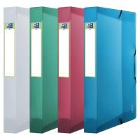 Elba 2nd Life Box na spisy PP 40mm, mix farieb, 4 kusy