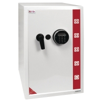 Reskal SE4 premium coffre-fort avec serrure électronique 78 litres - blanc