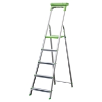 Rebrík Safetool 3730.05, 5 stupienkov, materiál hliník