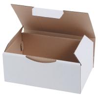 Karton wysyłkowy, wymiary w mm: dł. 200 x szer. 100 x wys. 100, biały, 50 sztuk