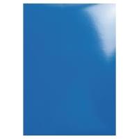 Okładka EXACOMPTA błyszcząca, niebieska, opakowanie 100 sztuk