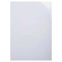 Umschlagdeckel Exacompta 2980C A4, 230 g/m2, glossy, weiss, Packung à 100 Stück