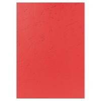 Okładka EXACOMPTA skóropodobna, czerwona, opakowanie 100 sztuk