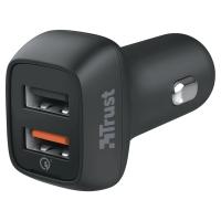 Trust 20572 USB auto oplader zwart
