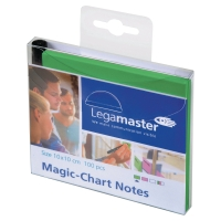 NOTES LEGAMASTER MAGIC-CHART 10X10 GRÖN 100 ST/FP