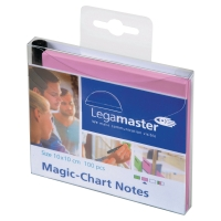 NOTES LEGAMASTER MAGIC-CHART 10X10 ROSA 100 ST/FP