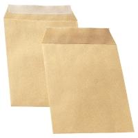 Tašky samolepiace s krycou páskou hnedé C5 (162 x 229 mm), 500 kusov/balenie