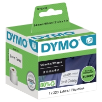 Dymo 99014 verzend etiketten voor labelprinter 101x54mm - doos van 220