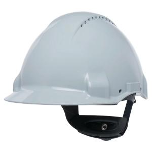 Ochranná prilba 3M™ G3000CUV-VI, biela
