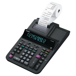 12-Digits Digitron-Display Printing Calculator, 2-colour printing.