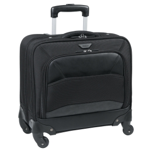 Targus Mobile VIP Roller Bag for 15.6  Laptops - Black