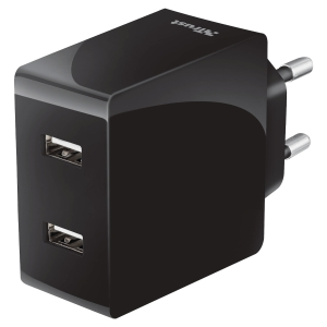 Chargeur 2USB  mural iphone pour tablette Trust