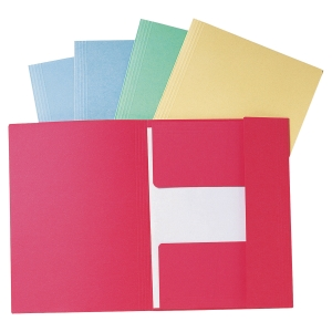 Lyreco iratgyűjtő 3 pólyával, kék A4, 50 darab/csomag