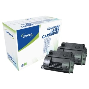 Lyreco Compatible HP Laserjet P4015/P4515 (64X) High Yield Twin Pack