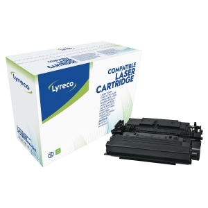 Lasertoner Lyreco HP CF287X kompatibel, 18.000 sider, sort