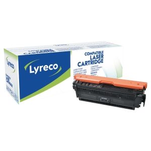 LYRECO LAS CART KOMP HP CF360A SORT