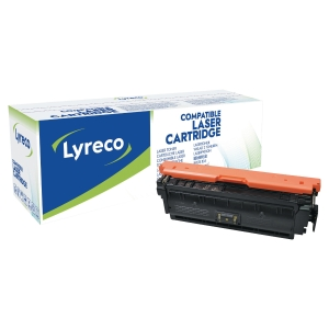 Laser cartridge Lyreco kompatibel HP CF362A gul