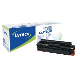 Laser cartridge Lyreco kompatibel HP CF412X gul