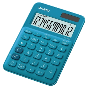 MS-20UC CALCULATRICE BUREAU BLEU CASIO