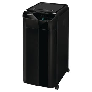 Destructeur Fellowes Automax 350C coupe croisée