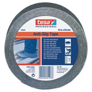 Protišmyková páska na schody tesa® 60950, 50 mm x 15 m, čierna