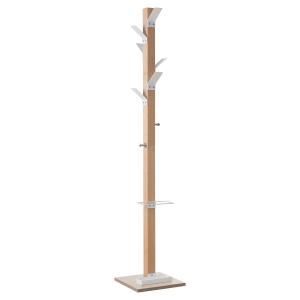 Garderobenständer Paperflow Easycloth, 8 Haken, Holz/Metall