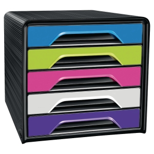 Skuffekabinet Cep Gloss, 5-skuffer, multicolor